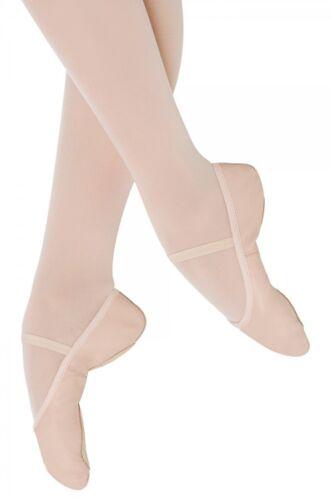 S0202 SALE Debut II Bloch Pink Leather Split Sole Ballet SO202 202