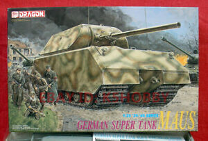 "German Tank Hunters Figure Set DRAGON 1//35 9133 German Super Tank /""Maus/"""