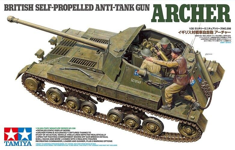 TAMIYA ART. 35356  British Sel-Propelled Anti-Tank Gun Carro Armato 1/35