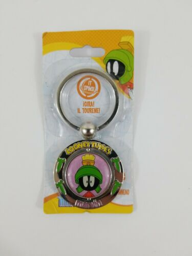 HY-KO Marvin the Martian Keychain Spinner Warner Brothers Looney Tunes