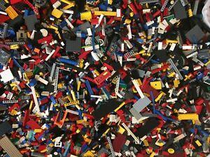 1kg-1000g-Mixed-Bricks-Genuine-LEGO-Bundle-Pieces-Pieces-Starter-Set-Vrac-joblots