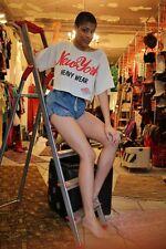 Jeans Shorts Hose Sprinter Denim Sommer high waist 80er True VINTAGE 80s NOS