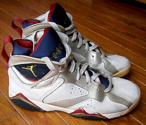 best cheap b5f62 8e7b3 Details about Air Jordan Retro VII 7 Olympic 2004 304774-171 GS Size 6.5Y
