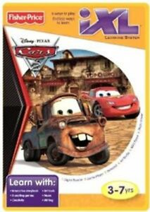 Fisher-Price-iXL-Learning-System-Software-Disney-Pixar-Cars-2-Disney-3-7-years