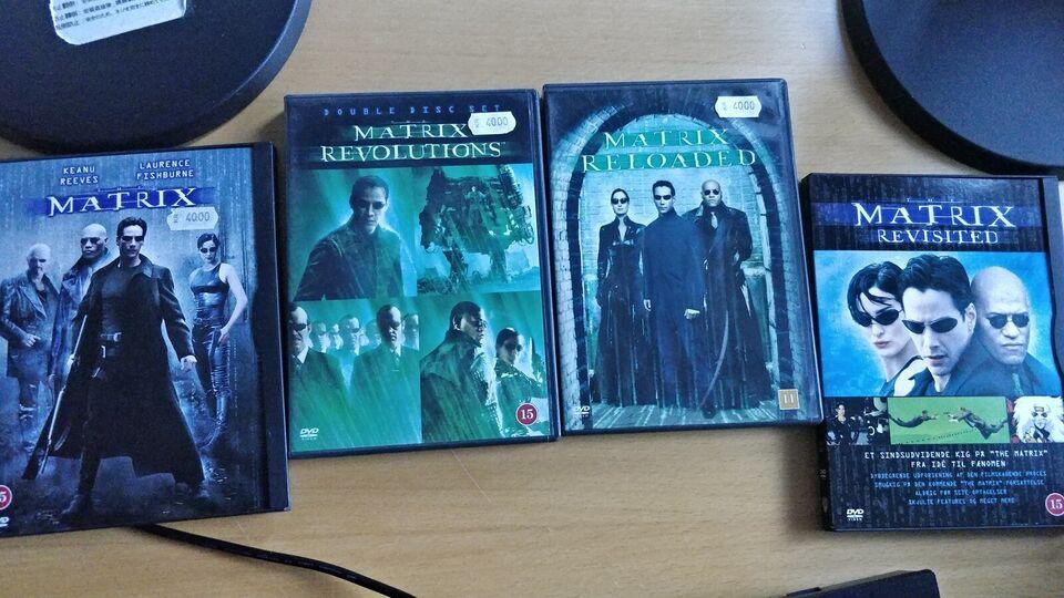 Matrix, instruktør Div, DVD