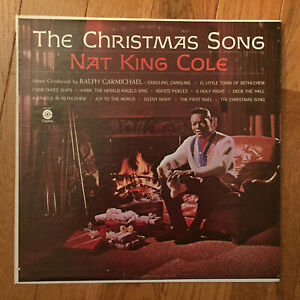 Nat King Cole - The Christmas Song LP Capitol SM-1967 I Saw Three Kings VG+   eBay
