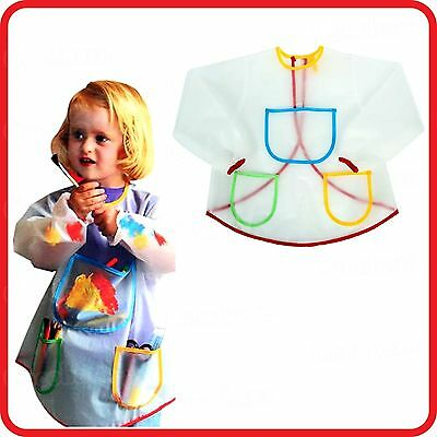 Childrens Painting Apron 42cm For Arts /& Crafts