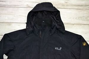 Details about JACK WOLFSKIN TEXAPORE 4x4 MEN'S JACKET WITH HOOD size M MEDIUM_