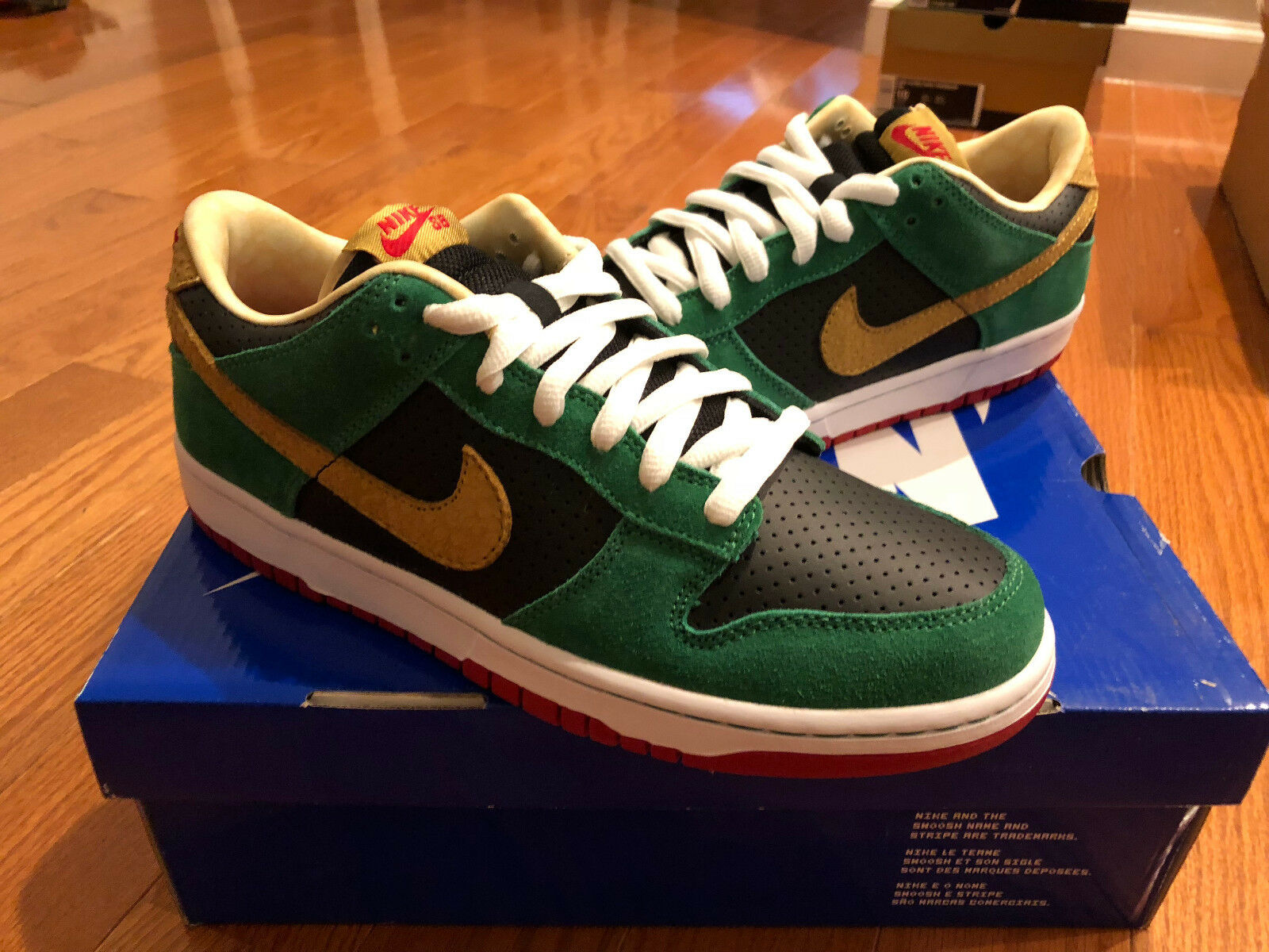 DS NIKE Dunk Low Premium SB  Miller High Life  Marvin the Martian (313170 008)