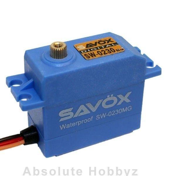 Savox Waterproof HV Metal Gear Digital Servo - SAV-SW-0230MG