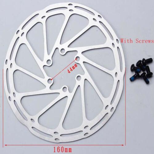 Centerline 160mm 180mm Disc Brake Rotor 6 Bolt MTB Mountain Road Bike Cycling