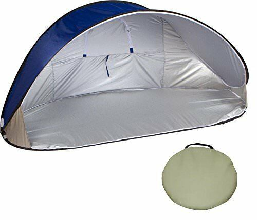 7' Portable Pop-Up Wind & Sun Shelter Tent Canopy with Carry Bag