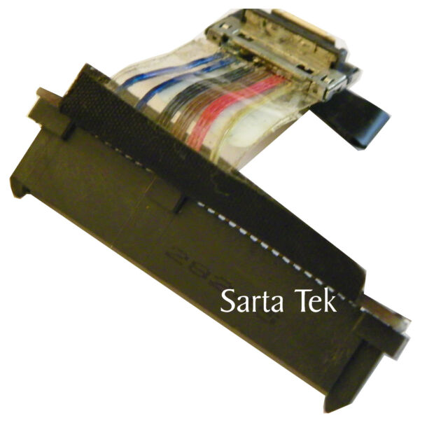 Dell Studio XPS 1640 1645  HDD Bracket G498F With Connector K673D H628F Genuine