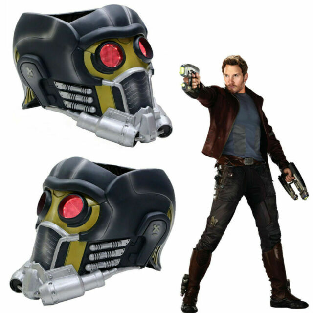 Guardians of the Galaxy Mask Cosplay Star Lord Helmet Halloween Masquerade Masks
