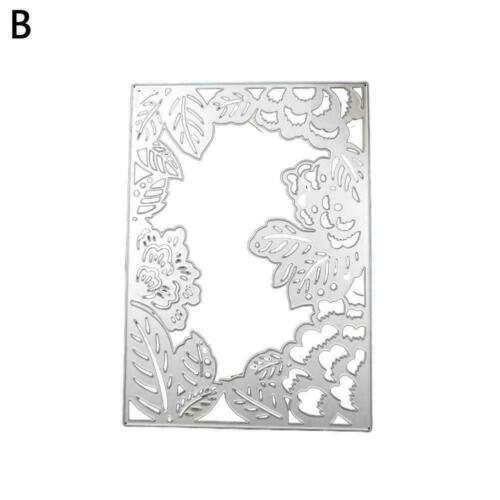 Metal Cutting Dies//stamp DIY Scrapbooking Album Decorative Art Emboss Y3E2 F1Z5