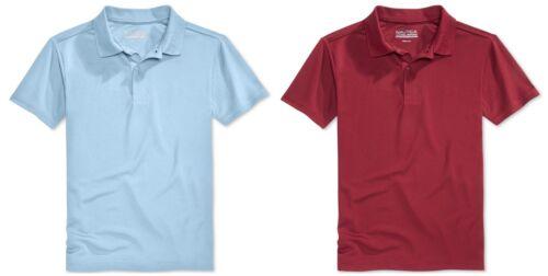 New Nautica Boys/' Uniform Short Sleeve Performance Polo Shirt MSRP $24.00