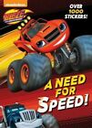 A Need for Speed! (Blaze and the Monster Machines) by Golden Books (Paperback / softback, 2017)