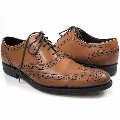 Charles Tyrwhitt Men's Shoes Size 8 Walnut Tan Brogue Oxford Jermyn London | eBay