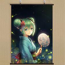 Vocaloid: Hatsune Miku Home Decor Anime Japanese Poster Wall Scroll New E0024