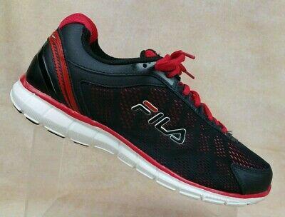 Fila Black/Red Running Training Mem
