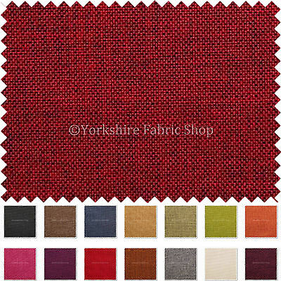 Durable Modern Linen Effect Smooth Chenille Furnishing Grey Upholstery Fabric