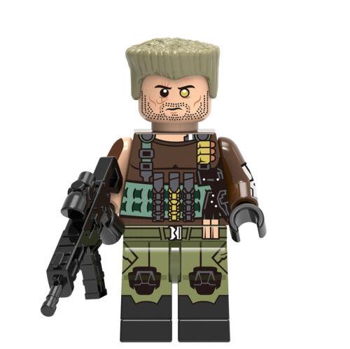 █ Buy 2 Get 1 Free █ Cable Deadpool MOC Mini Figure Bricks Blocks X0166 665