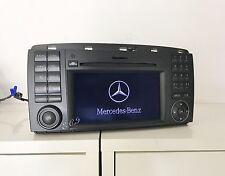 09~12 GENUINE Mercedes UNLOCK NTG2.5 W251 R350 R550 Navigation Comand 6 CD Radio
