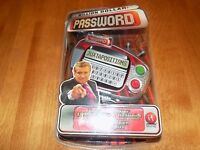Million Dollar Password Electronic Handheld Game Irwin Toy In Package Sealed