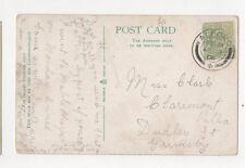Miss K Clark Claremont Villa Dudley Street Grimsby 1906  348a