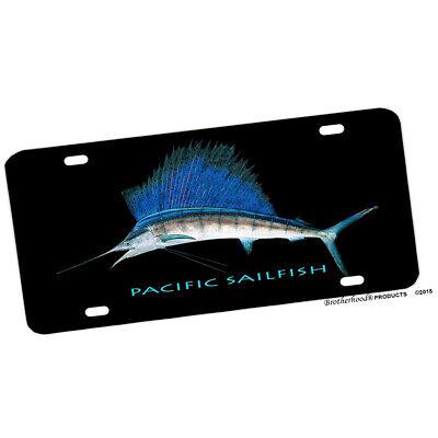 Fishing Hawaii Game Fish Sail Fish Design Circle Aluminum Sign