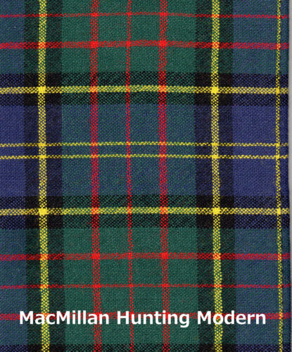 Tartan Sash Clan MacMillan Scottish Wool Plaid