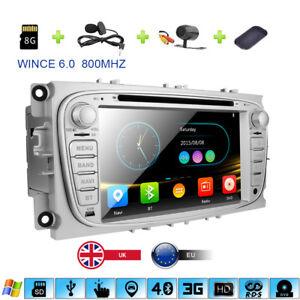 7-034-Car-DVD-Player-GPS-Sat-Nav-Radio-Bluetooth-3G-Ford-Focus-Mondeo-Galaxy-C-Max