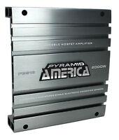 Pyramid Pb918 2000w 2 Channel Car Audio Amplifier Power Amp Bridgeable Mosfet on sale