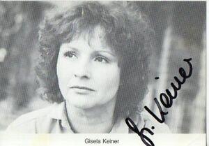 Autogramm - Gisela Keiner