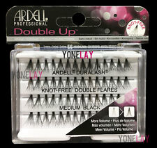 Lot 4 - ARDELL Eyelashes Individual Flare Lashes Knot Free Double Flares Medium