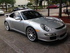 "Porsche AG Ruger Mesh Silver 19"" wheels rims 911/987/996/997 Cayman Boxster"