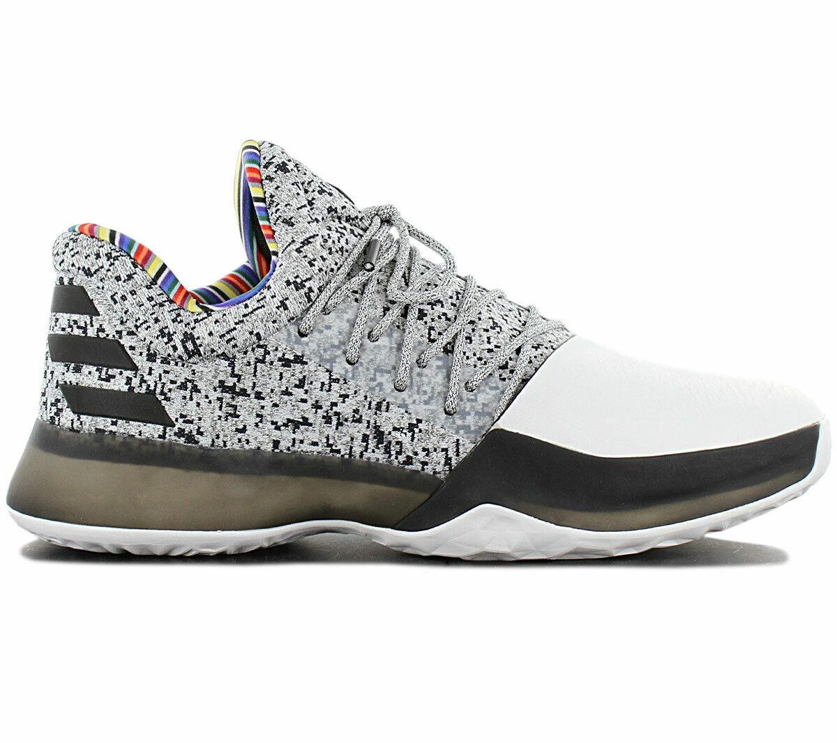Adidas Harden Vol. 1 Bhm Boost BY3473 Black History Month - Arthur Ashe Edition