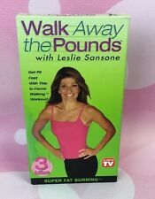 Leslie Sansone - Walk Away the Pounds - Super Fat Burning [VHS] by
