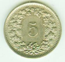 Schweiz, Confoederatio Helvetica 5 Rappen 1963 B