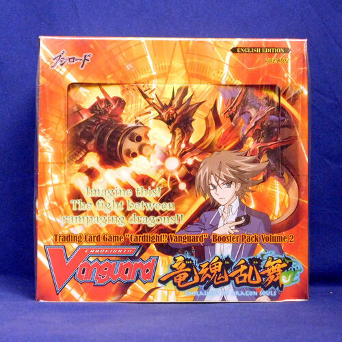 Cardfight Vanguard ONSLAUGHT OF DRAGON SOULS Sealed Booster Box