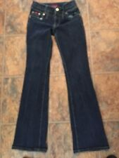 BABY PHAT STRETCH JEANS SIZE 5 BOOT CUT 26/31