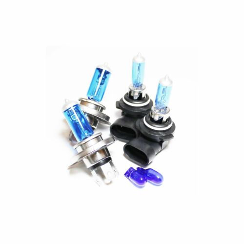 55w ICE Blue Xenon HID High//Low//Fog//Side Light Headlight Bulbs Set