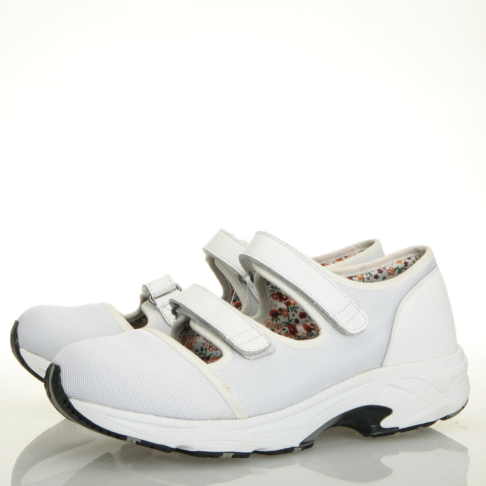 Drew Solo White Sport Mesh Therapeutic Walking shoes - Womens 11.5 M