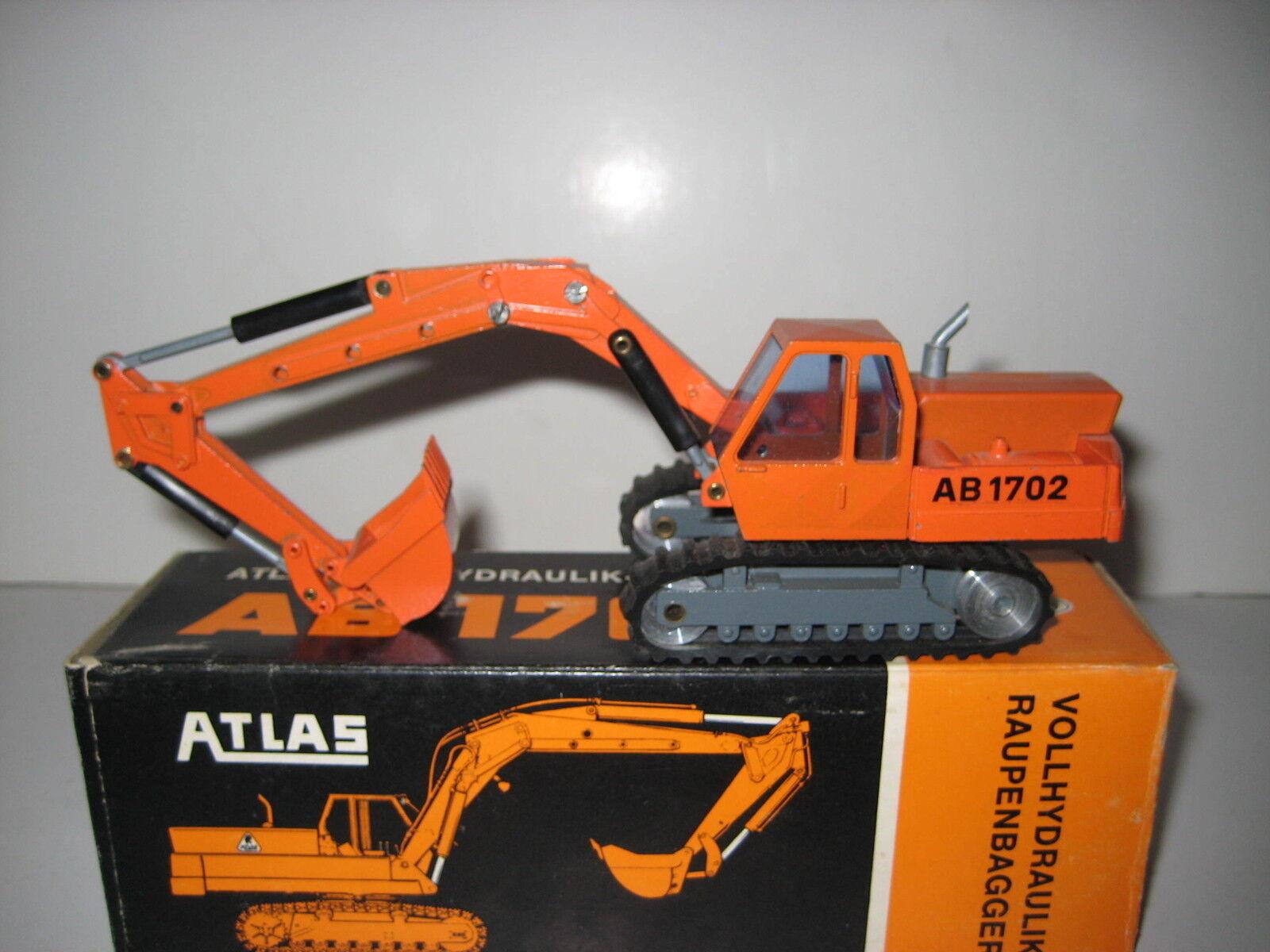 Atlas À PARTIR DE 1702 Excavateurs tieflöffel  104.1 NZG 1 50 neuf dans sa boîte