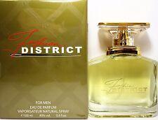 FASHION DISTRICT Eau De Parfum Spray FOR MEN 3.4 Oz / 100 ml BRAND NEW ITEM !!!