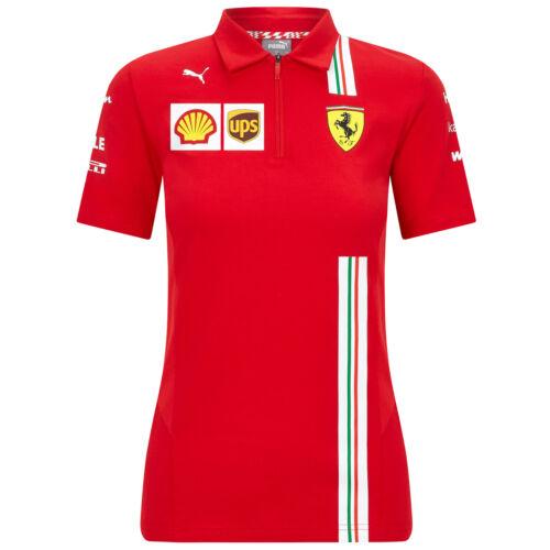 2020 Scuderia Ferrari F1 Team T-Shirts Vettel Leclerc in Mens Ladies Kids Sizes