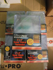 10 Ultra Pro Super Thick 180pt Toploader Card Holders Jersey Patch Memorabilia