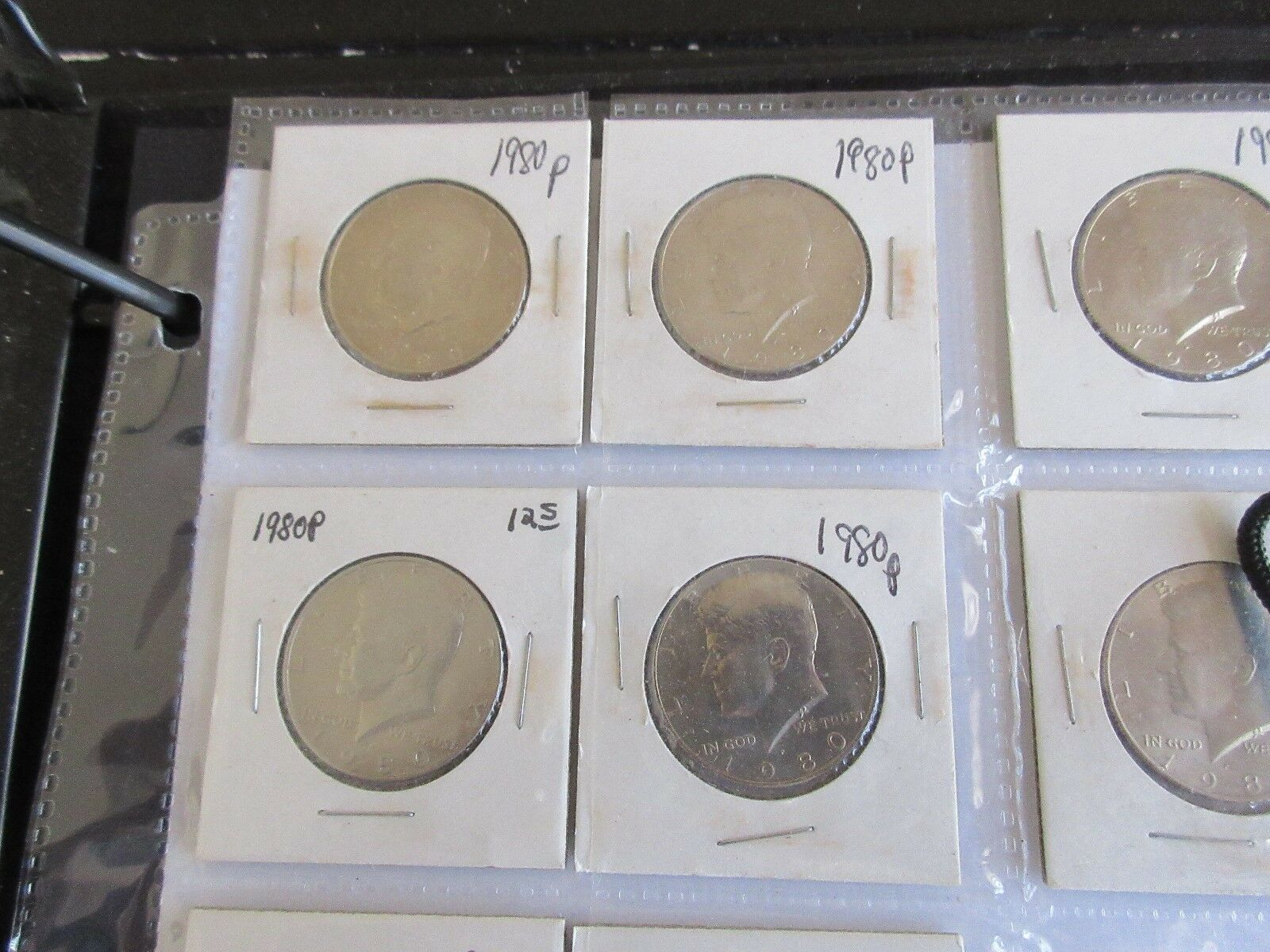 Kennedy Half Dollars , 1972 - 2001 , Mixed Dates and Mi