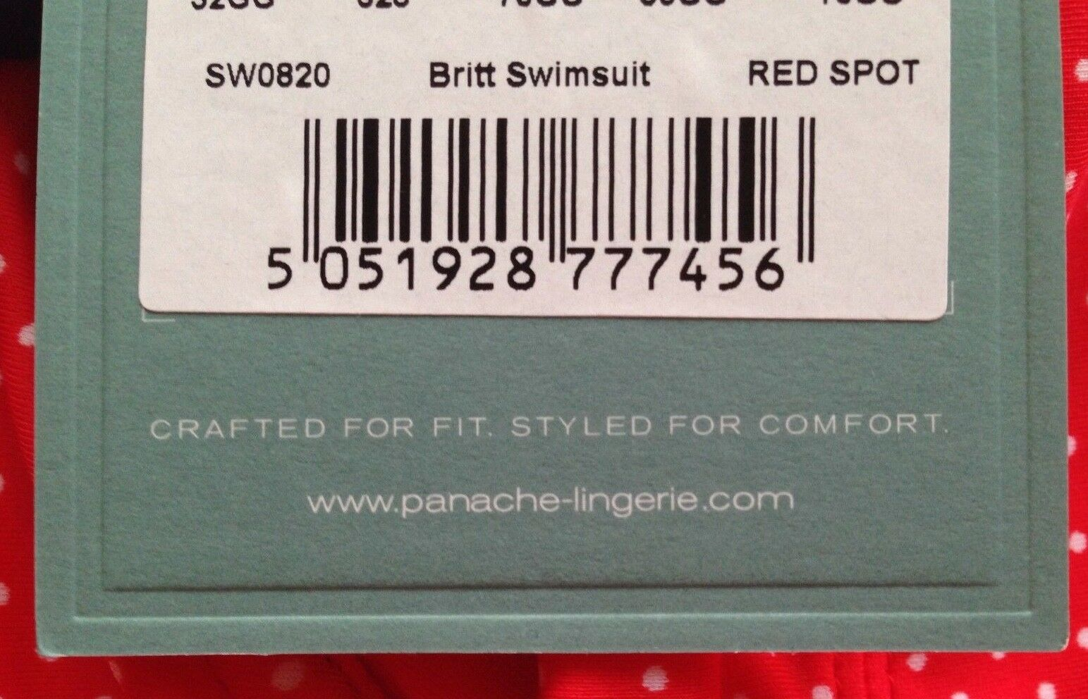 Panache Swimsuit Swimming Costume Costume Costume Britt Bra Red 32F 32GG 34F & 38D RRP  BNWT d3e81e