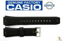 Casio Ef-552 Edifice 20mm Original Black Rubber Watch Band Strap Ef-552pb